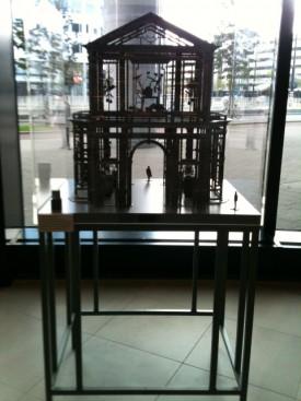 Scale model, Cor Kraat, Delftse Poort