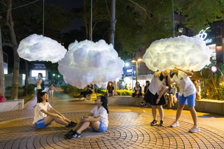 Head in the clouds by Caroline Escaffre Faure and Mickaël Martins Afonso
