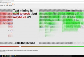 Text mining and experimental typewriters