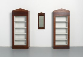 Paul Beckman, Two bookcases after antique mirror, 1987, Museum Boijmans Van Beuningen collection