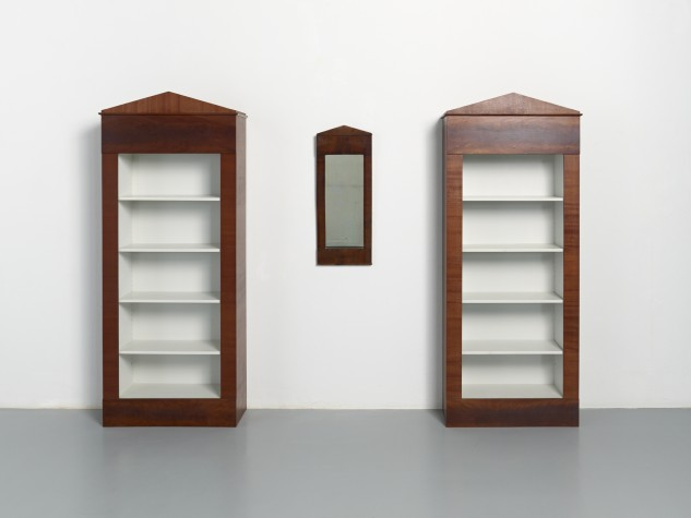 Paul Beckman, Two bookcases after antique mirror, 1987, Museum Boijmans Van Beuningen collection