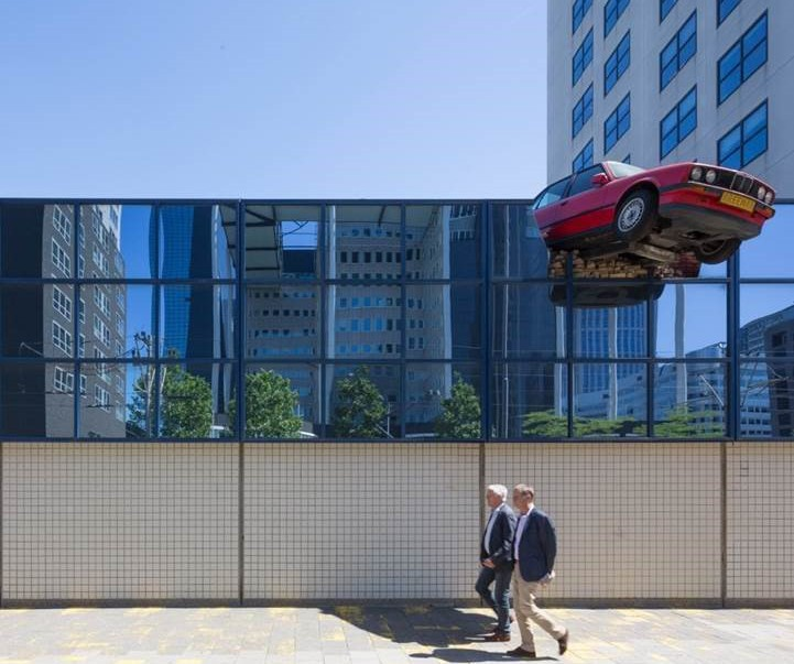 Art and Vaarwerk, Car parking garage (1987), Weena