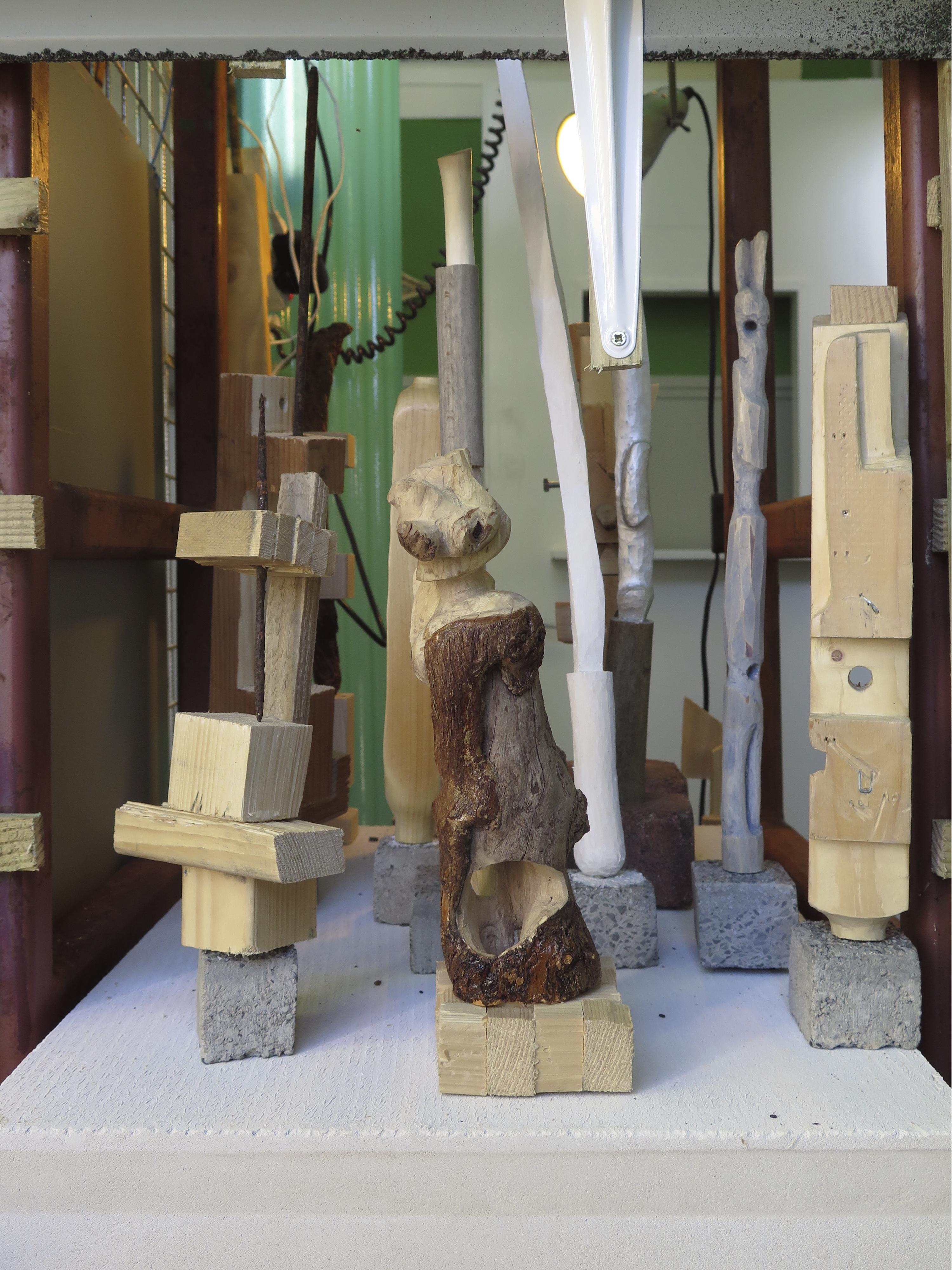 Eigen Weg installation view, Bernd Krauß and Petter Dahlström Persson. Photo courtesyPetter Dahlström Persson.